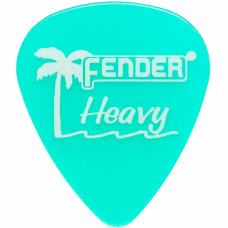 FENDER PALHETA CALIFORNIA CLEAR GROSSA VERDE (PCT/12)
