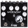 PEDAL FIRE LONE WOLF DUAL OVERDRIVE BOOST VOLUME