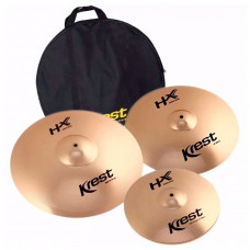 KREST HXSET3 KIT PRATOS 14 HI HAT 16 CR 20 RKI HX SERIES BAG