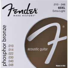 ENCORDEAMENTO FENDER 60XL VIOLÃO