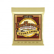 CORDA PARA VIOLÃO ERNIE BALL EARTHWOOD EXTRA LIGHT 010.050 2006