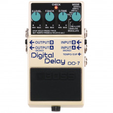 Pedal Boss de Efeitos para Guitarra DD-7 Digital Delay