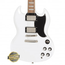 Guitarra Epiphone G-400 PRO SG Alpine White Regulada