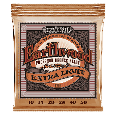 CORDA PARA VIOLÃO ERNIE BALL EARTHWOOD EXTRA LIGHT PHOSPHOR BRONZE ACOUSTIC - 2150