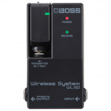 Sistema Sem Fio BOSS WL-50 Plug-and-play para Pedalboard