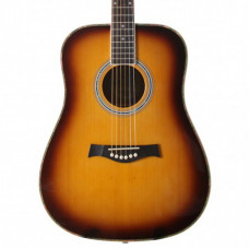 Violāo Seizi Tennessee Acoustic Blues Tobacco Sunburst
