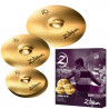 KIT DE PRATOS ZILDJIAN PLANET Z PLZ4PK